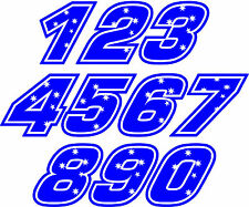 Casey Stoner RACE NUMBERS Decal size apr. 100MM HIGH( PICK YOUR NUMBERS)