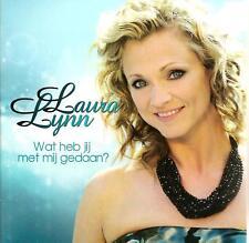 LAURA LYNN - wat heb jij met mij gedaan CD SINGLE 2010