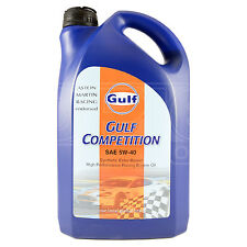 Gulf Competition 5w-40 racing engine oil (5w40) - 5 Litres