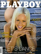 Playboy 09/2006  ISABEL EDVARDSSON  aus Let´sDance*  September/2006