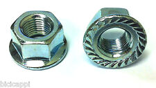 """PAIR OF 3/8"""" TRACK NUTS NON SPIN IN SILVER"""