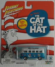 "Johnny Lightning – VW BUS t1 Samba ""The Cat in the Hat"" Nuovo/Scatola Originale"