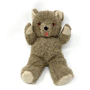 "Vintage Mary Meyer Teddy Bear Brown Plush Stuffed Animal 14"" Townshend Vermont"