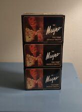 3 Pack ~La Toja Magno Classic Black Glycerin Soap Bars Spain Rare New Sealed!