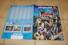 Complet PLAYMOBIL CATALOGUE FRANCE 2001 2002