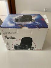 Fotocamera CANON PowerShot SX620 HS 20MPX 50X BLACK+ KIT BORSA-SD 16GB NUOVA