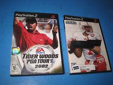 EA SPORTS TIGER WOODS PGA TOUR 02 + NCAA FOOTBALL 2K3 PlayStation 2 Manual  5R3
