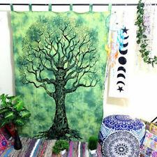 Indian Tree of Life Door Window Curtain Hanging Tapestry Hippie Drape Valances