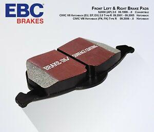 HONDA Civic Type-R EP3, FN2 EBC Ultimax Brake Pads Front (Set) DP1254 2001-2011