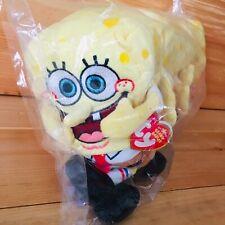"8"" Ty Beanie Sponge Bob Square Pants Set Of 6 New W/M/Tags"