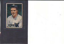 1951 BOWMAN #41 EDDIE YOST,WASHINGTON SENATORS