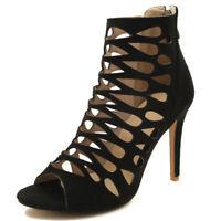 Women Pumps Shoes Roman Gladiator Sandals Stilettos Party High Heels Shoes US15