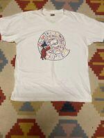 Supreme ss Tee Shirt L Large White Joe Roberts Swirl Mouse Wizard