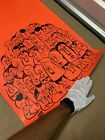 BARRY McGEE ORIGINAL PROMOTIONAL EXHIBITION POSTER RARE