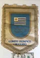 OLD ORIGINAL PENNANT URUGUAY OLYMPIC COMMITTEE PENNANT Comite Olimpico Uruguayo