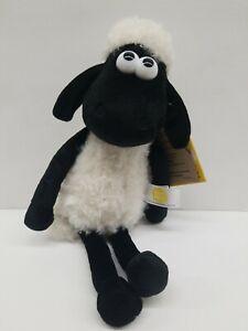 "Aurora Shaun the Sheep Stuffed Animal 11"" Plush 14213 Aardman NWT"