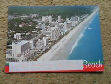 .POSTCARD.MYRTLE BEACH GRAND STRAND..POSTED 5.9.2001.70c STAMP.