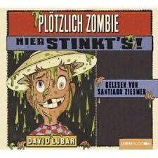 DAVID LUBAR - PLÖTZLICH ZOMBIE: HIER STINKT'S! 2 CD HÖRBUCH KINDER NEU