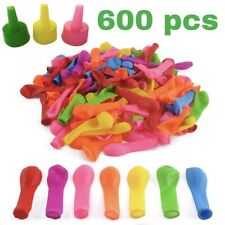 Water Balloons Refill Kit Total 600 pack for Water Sports and Party