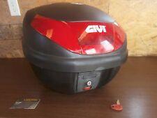 Suzuki Harley Yamaha Honda Kawasaki GIVI Monolock Storage Bag Box Trunk Black
