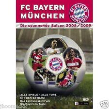 """DVD """" FC Bayern München Munich Saison 2008 / 2009 """" NEU + OVP in Folie 160 Min."""