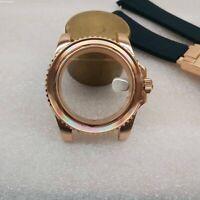 Uhrengehäuse für ETA 2824 2836 8215 8200 2813 Uhrwerk Watch Case Sapphire Glass