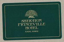 Sheraton Princeville Hotel Kauai Hawaii playing card single swap queen - 1 card