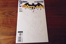 BATMAN #1 CUSTOM HARLEY SKETCH,ONE OF A KIND!! CUSTOM COVER OVER 4TH PRINT #1