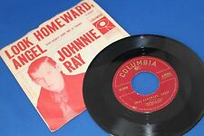 RARE Johnnie Ray COLUMBIA 40803 Juke Box 45 w Original Picture Sleeve Pic 1957