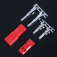 10 Sets RC JST BEC Female Male Battery Connector Plug 2-Pin Crimps Tin Plated
