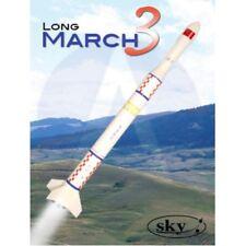 Sky Flying Model Rocket Kit Long March 3 7152