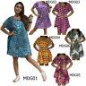 Mini Dress MDG01 Thai Cotton Boho Tunic Blouse Beach Sundress Top Casual Women