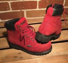 SAFETY WORK BOOTS LACE UP STEEL TOE CAP