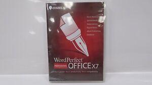 Corel WordPerfect Office X7 Pro - DVD (WP0X7PRENDVD, 735163144031 )