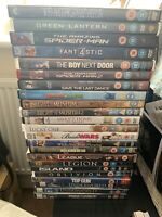 Various DVDS - DVD Collection - 23 DVDs - Watched Once - incl Marvel/DC Films