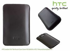 HTC Leather Pull Tab Pouch Case Cover PO S540 for HTC 7 Mozart Desire Desire S