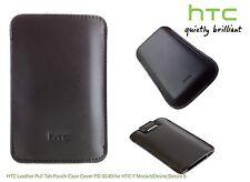 HTC in Pelle LINGUETTA SACCHETTO CUSTODIA COVER PO S540 per HTC 7 Mozart Desire Desire S