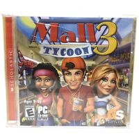 Mall Tycoon 3 Retro PC Game VTG Brand New Minor Flaws On Case