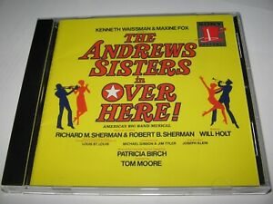 THE ANDREWS SISTERS in OVER HERE (1974) ORIGINAL BROADWAY CAST SOUNDTRACK   CD