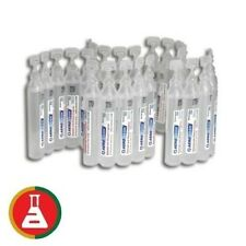 100 X FIRST AID SALINE WOUND & EYE IRRIGATION AMPOULES 15ml STERILE