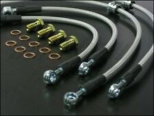 Techna-Fit Stainless Steel Braided Brake Lines 2003-2006 Lancer Evolution 8 & 9