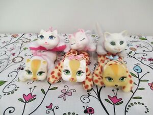 Cute Lot of Replacement Kittens for Kitty Surprise Plush Stuffed Animal