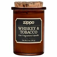 Zippo Spirit Candle - Whiskey & Tobacco, 70006, New Condition (5 oz. jar)
