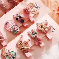 Baby Headwear Cute Hair Clips Accessories For Kids Children Hair Clip 6Pcs/set