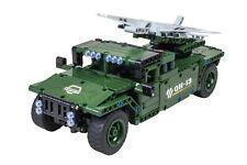 Teknotoys Active Bricks RC UAV Militär-Transporter - Konstruktionsbaukasten mit