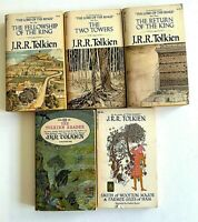 Tolkien Lord of the Rings 1st Ed The Tolkien Reader Smith Wooten Farmer Giles