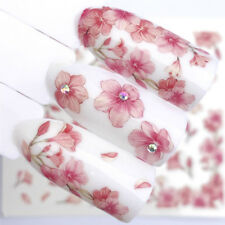 Nail Art Nagel Sticker * Wasser Transfer Tattoo * Blumen Kirschblüte