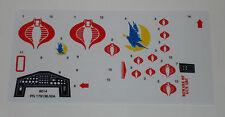 GI Joe Cobra Night Raven Sticker Decal Sheet