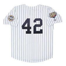 Mariano Rivera 2009 New York Yankees Serie Mundial Blanco Casa para Hombre Jersey (M-2XL