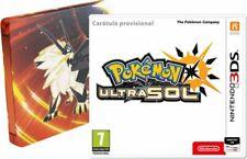Pokémon Ultrasol Edición especial SteelBook Nintendo 3DS